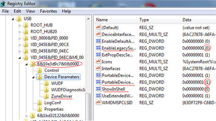 Windows Phon 7 USB hack