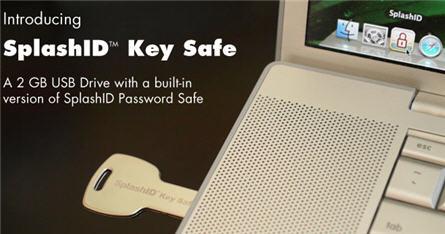 SplashID, USB password