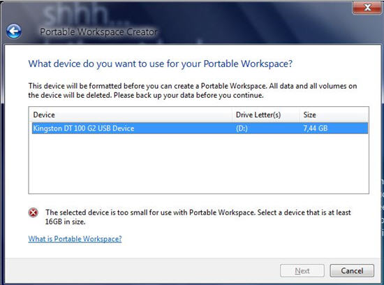 USB Windows 8