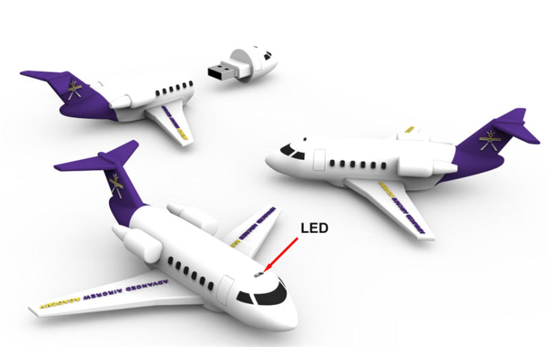 airplane usb, flash drive
