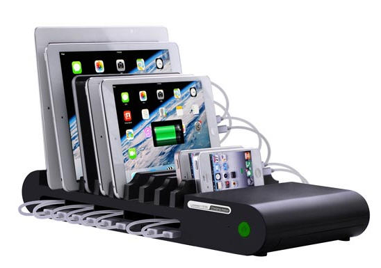 USB charge dock station