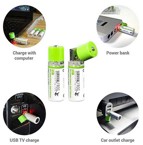 rechargeable AA batteries