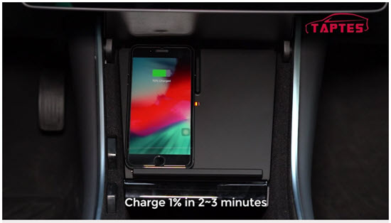 tesla wireless phone charger