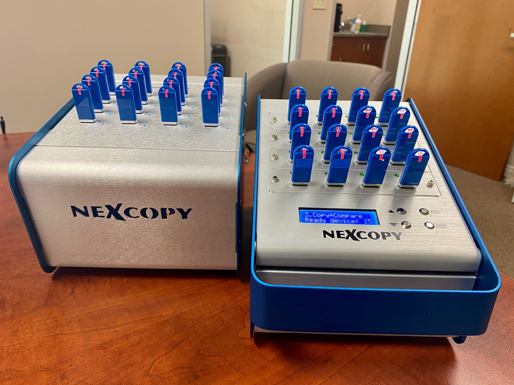 usb duplicator systems by nexcopy